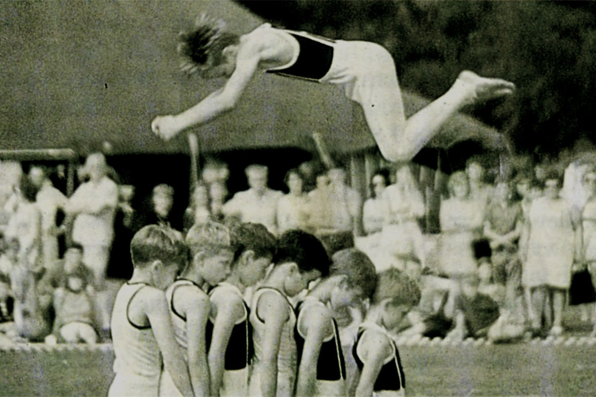 Some impressive acrobatics
