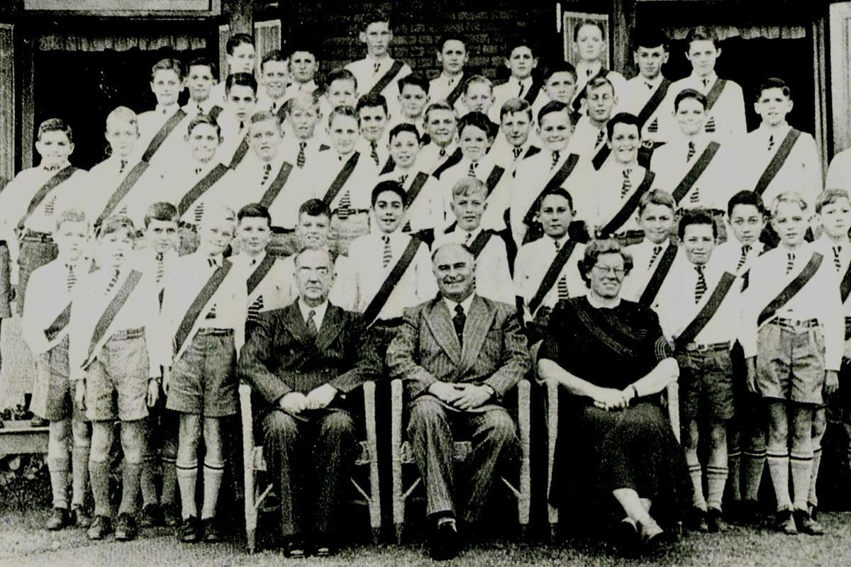 The Merchiston Choir – 1952