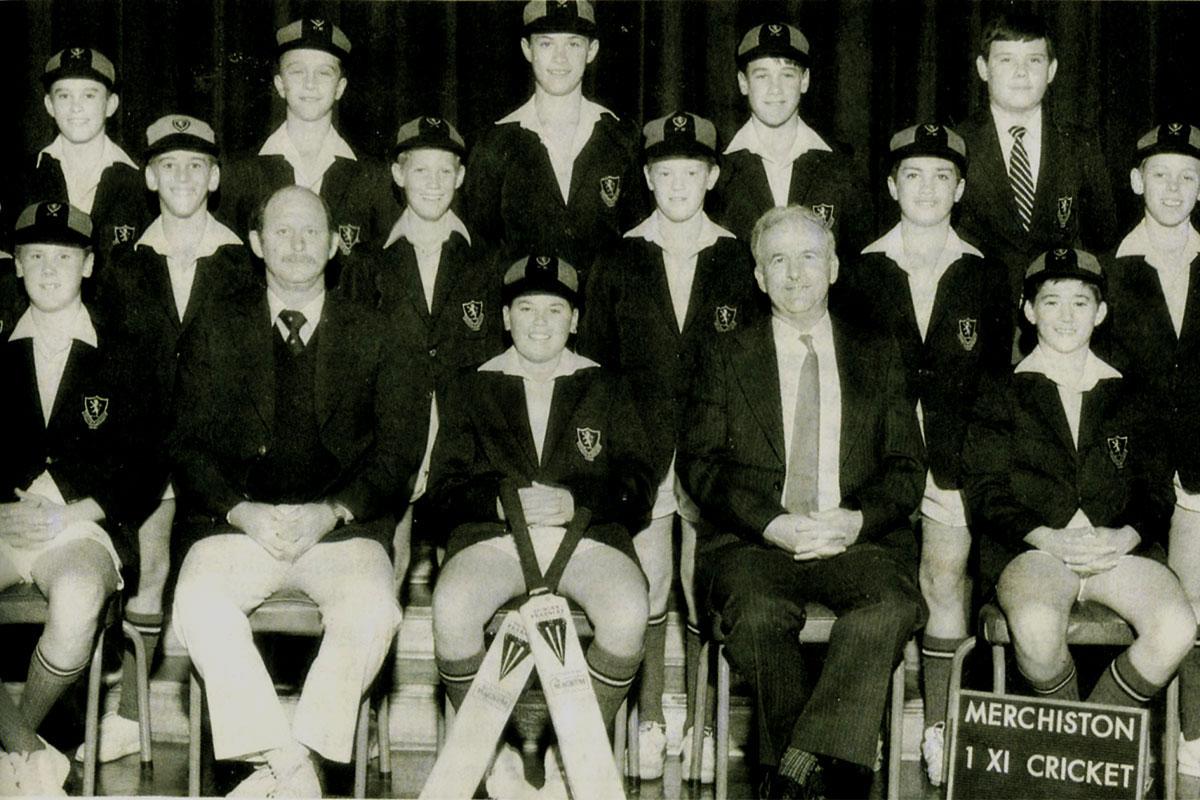 Merchiston 1st XI – 1980